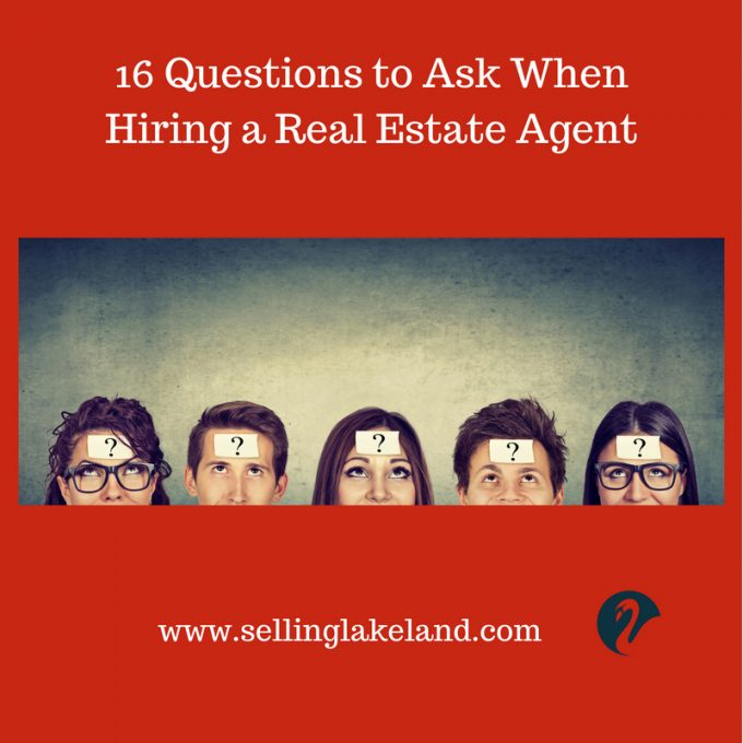 Hiring a Lakeland Real Estate Agent