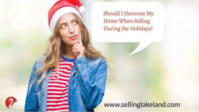 Decorating during the holidays | selling a home