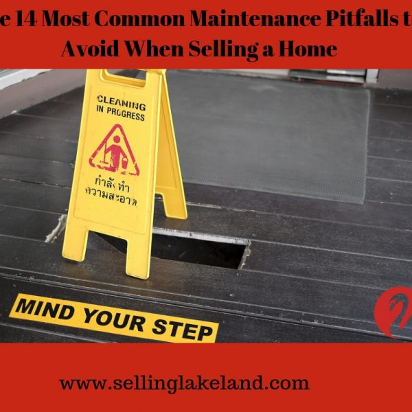 Things to correct when selling a home - avoid maintenance pitfalls