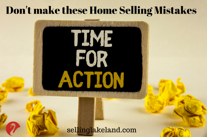Take Action to Avoid Home Selling Mistakes